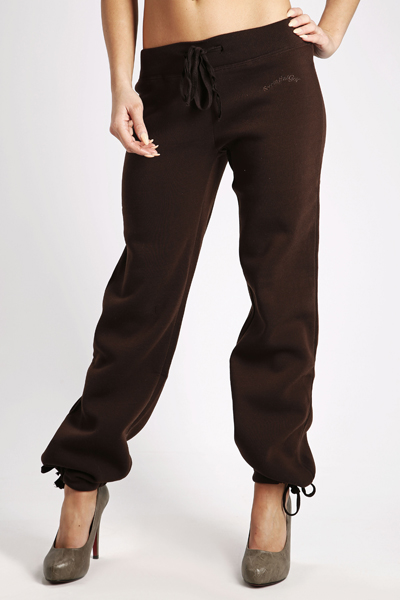 Fleeced Drawstring Trousers