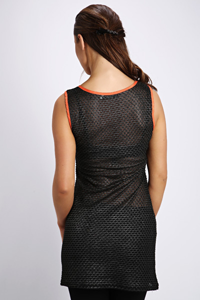 Mesh Basketball Top