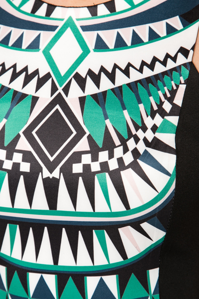 Tribal Panel Dress