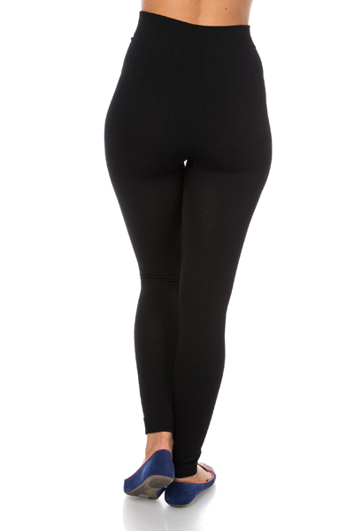 Pattern Longline Leggings
