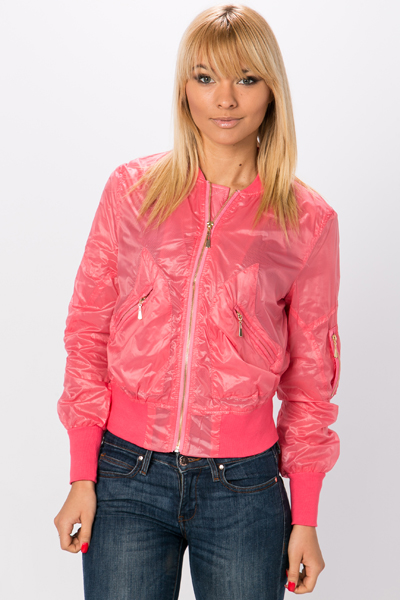 Waterproof Zip Front Candy Jacket