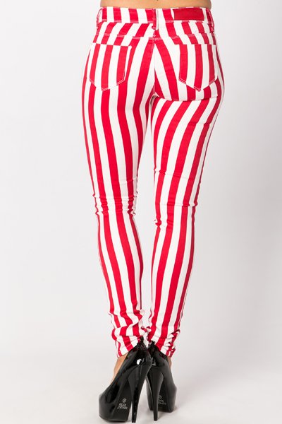 Coloured Stripe Trousers