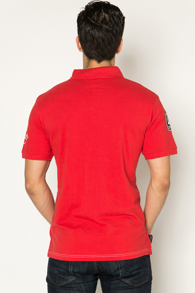 Athletic Logo Polo Shirt