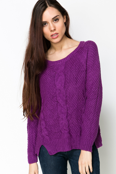 Cable Knit Cosy Pullover