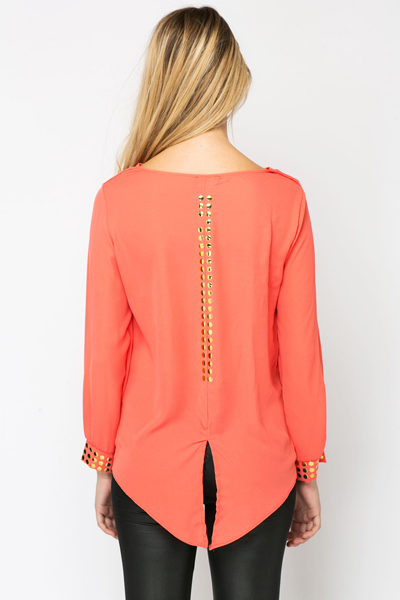 Studded Trim Tunic
