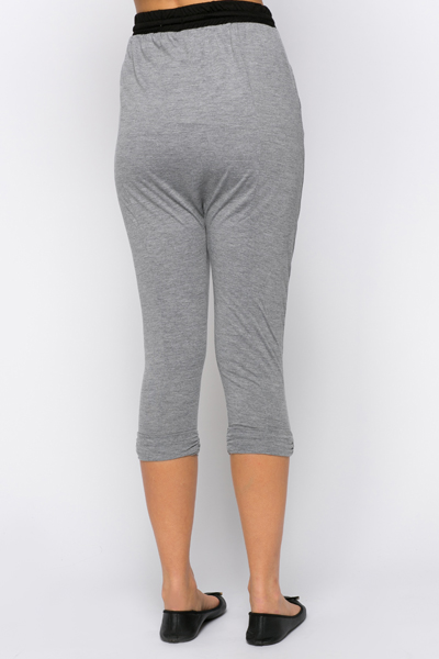 Low Crotch Leisure Trousers