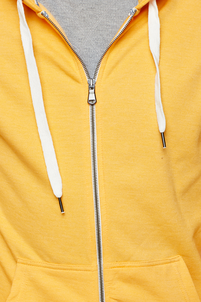 Fleece Coloured Hoodie