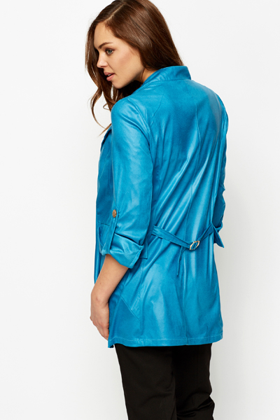 Single Button Front Jacket