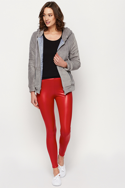 Red Leggings