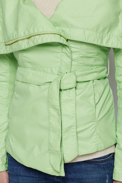PU Waterfall Style Jacket