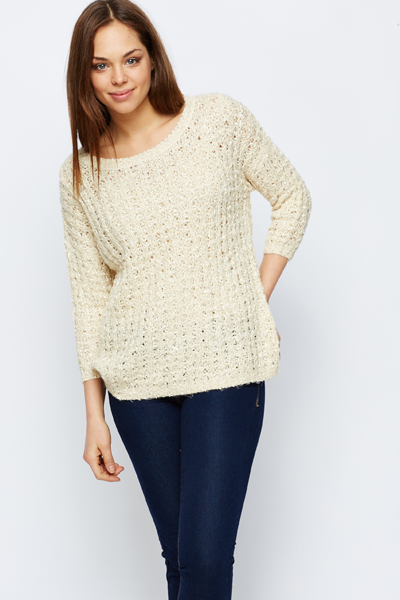 Perforated Chunky Jumper