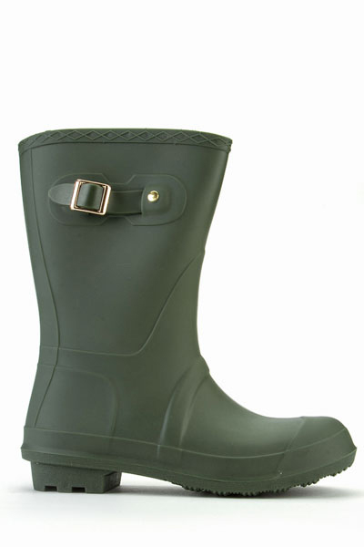 Buckle Side Wellie Boots