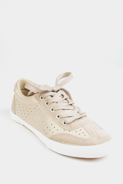 Perforated Sheer Trainers