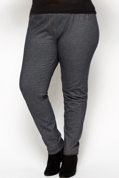 Basic Grey Jeggings
