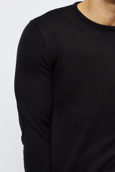 Round Neck Basic Knit Pullover