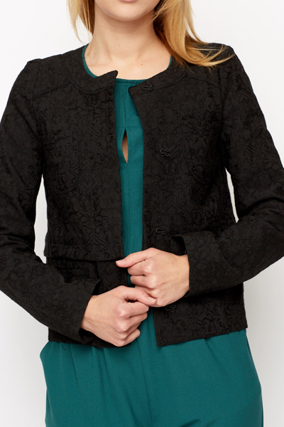Tapestry Embossed Jacket