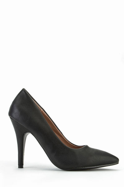 Faux Leather Classic Office Shoes