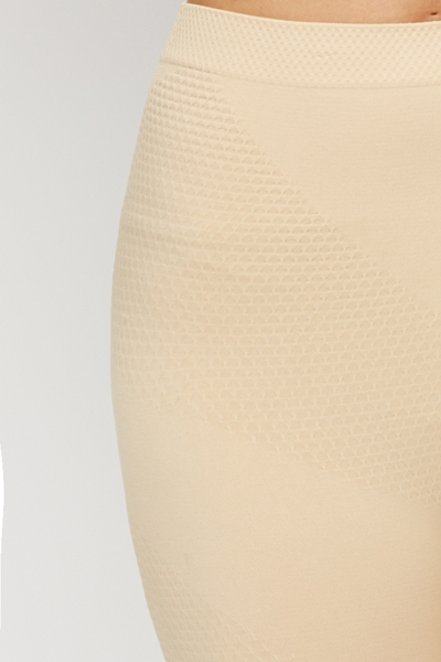 Pattern Body Shaper Shorts