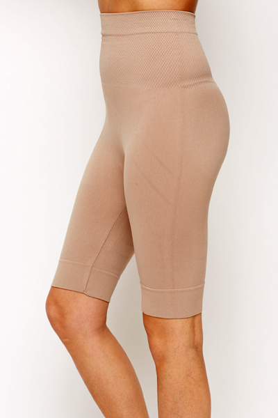 Textured Panel Bodyshaper Shorts