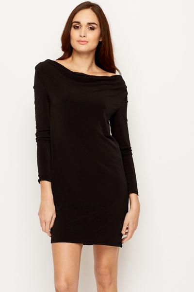 Low Elasticated Back Dress