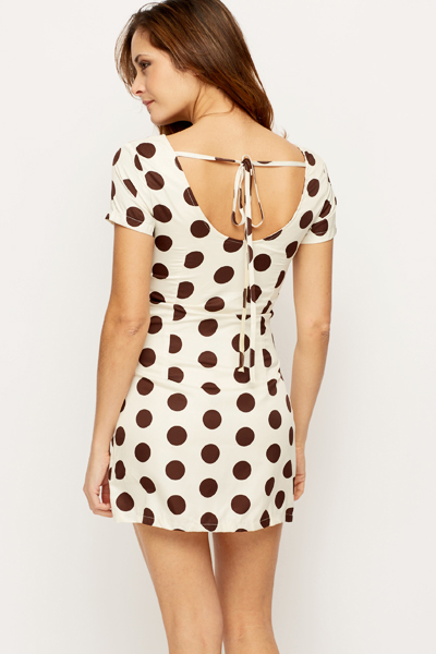 Polka Dot Mini Dress