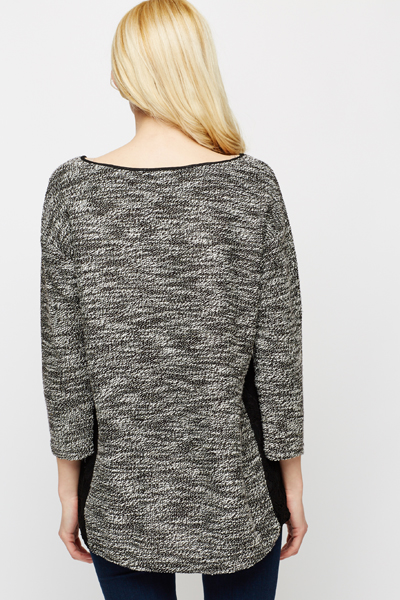 Laced Side Panel Jumper