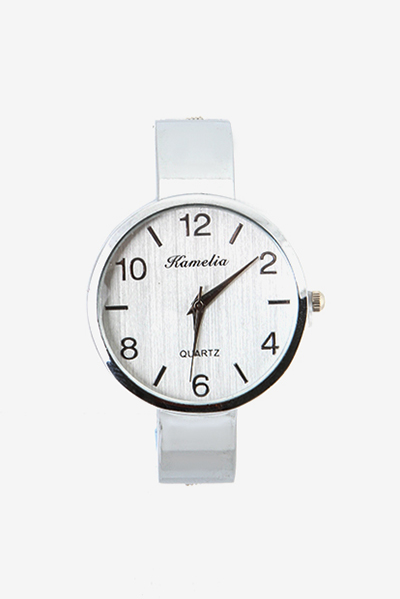 Stainless Back Analog Watch
