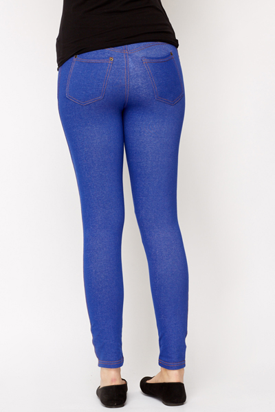 Classic Soft Denim Jeggings