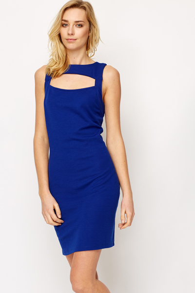Strap Back Bodycon Dress