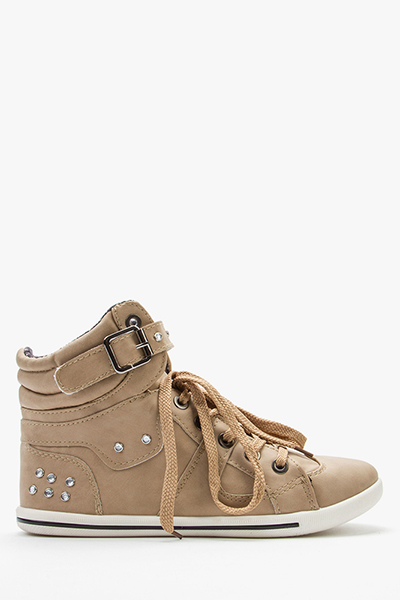 Diamante Strapped Trainers