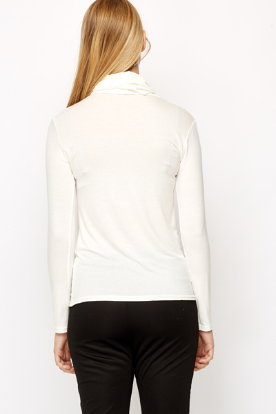Long Sleeve Turtle Neck Top