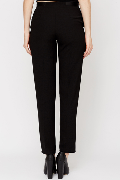 Long Straight Leg Trousers