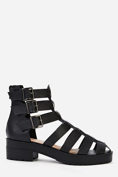 3f4572a976 Block Heel Gladiator Sandals - Just £5