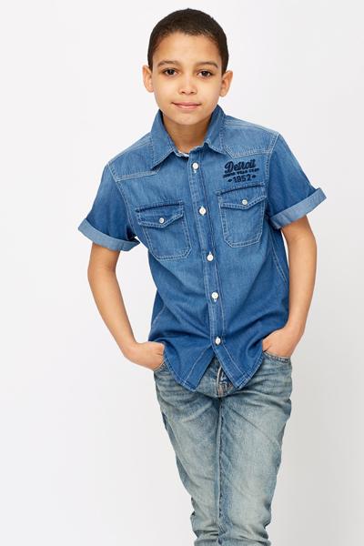9c0c33e12 Boys Denim Shirt - Just £5