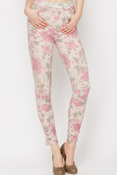 4124d702200a Floral Print Jeggings - Just £5