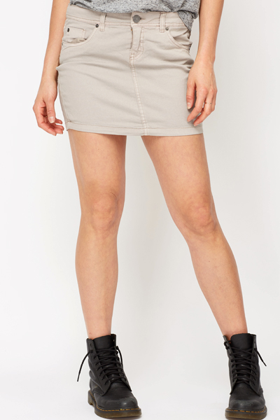 4289f4074d9ccc Coloured Mini Skirt - Just £5