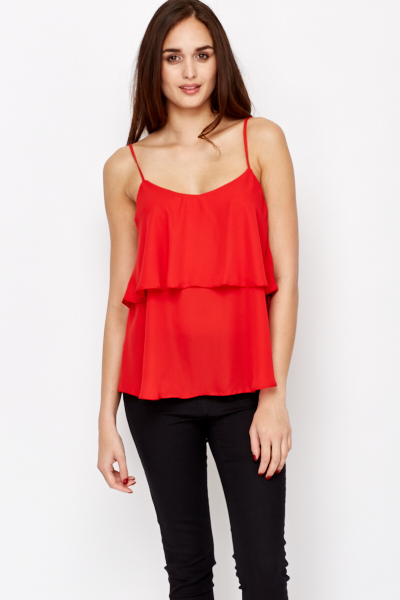 Shop for RED L Applique Cami Strap Tank Top online at $ and discover fashion at topinsurances.ga Cheapest and Latest women & men fashion site including categories such as dresses, shoes, bags and jewelry with free shipping all over the world.