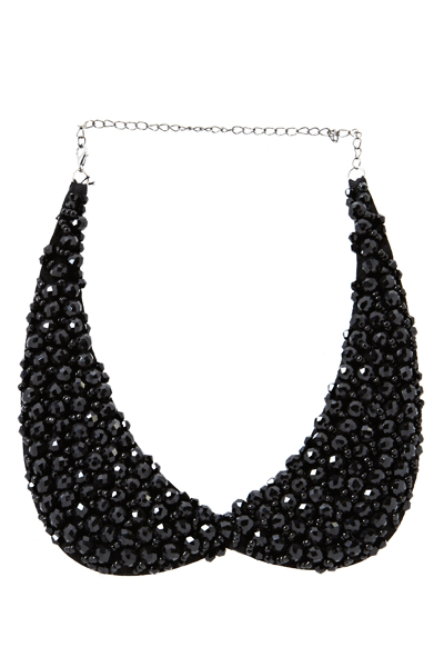 Embellished Peter Pan Collar Necklace