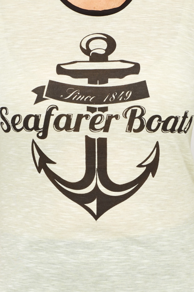 Anchor Print Top