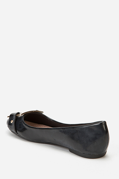 Buckle Toe Pumps