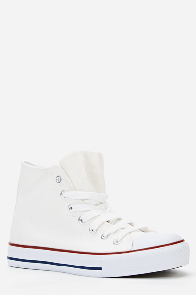 Hi-Top Canvas Shoes