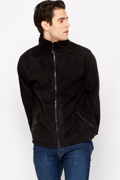 Zip Up Fleeced Jacket