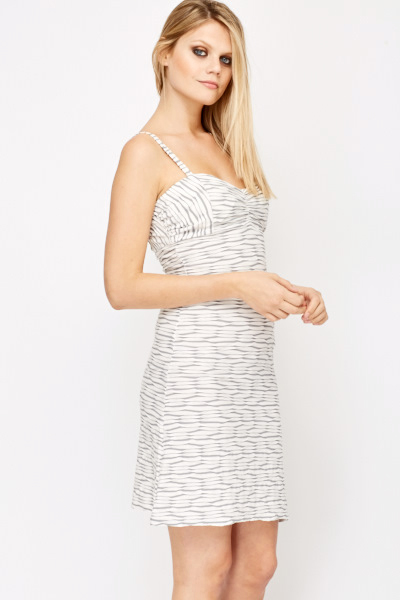 Bodycon Jacquard Dress
