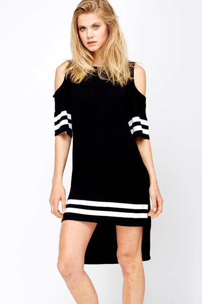 Cut Out Oversized Sports Dress