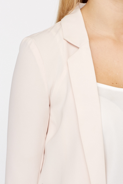 Long Open Lapel Jacket