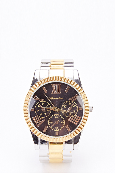Chronograph Contrast Watch