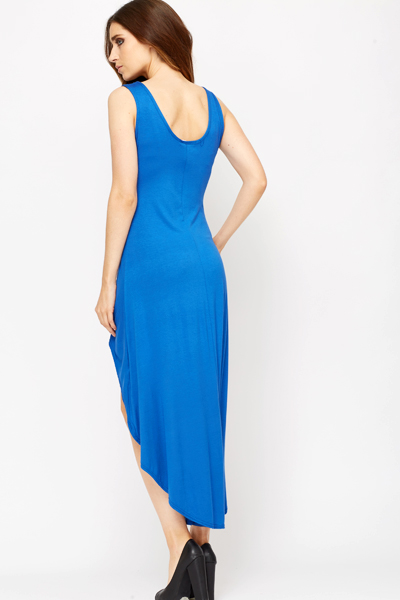 Dip Hem Maxi Dress