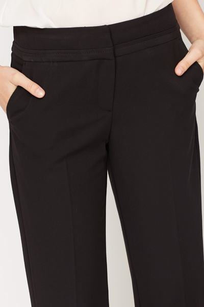 Formal Wide Leg Trousers