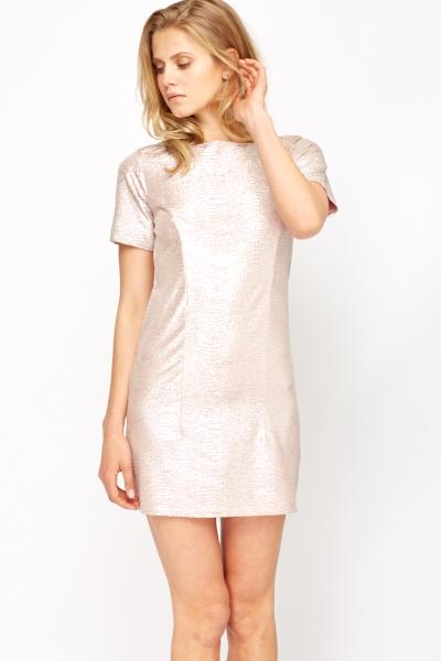 75229998f50 Metallic Shimmer Tunic Dress - Just £5
