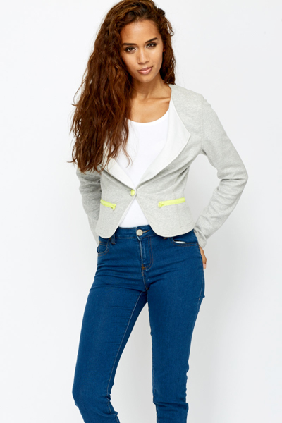 Casual Jersey Jacket